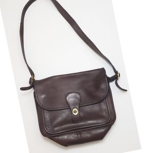 Coach vintage brown leather purse